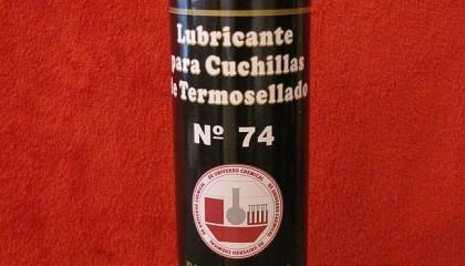 LUBRICANTE PARA CUCHILLAS DE TERMOSELLADO- COD. 74