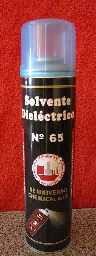 SOLVENTE DIELECTRICO EN AEROSOL – COD. 65