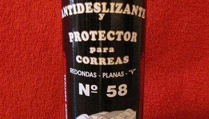 ANTIDESLIZANTE Y PROTECTOR PARA CORREAS REDONDAS, PLANAS Y EN V – COD. 58